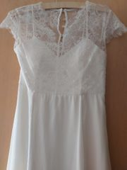 Brautkleid Standesamtkleid Gr 38