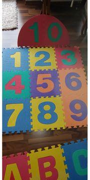 Puzzlematte Zahlen