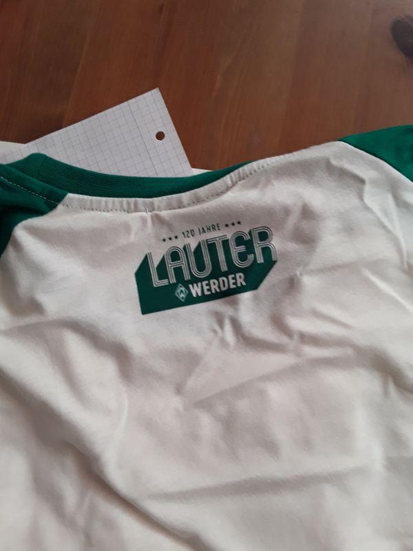 Werder Bremen Fussball Jubiläumstrikot