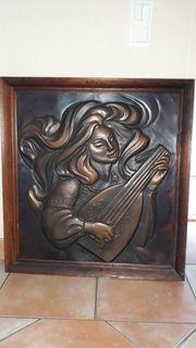 Bild aus Kupfer