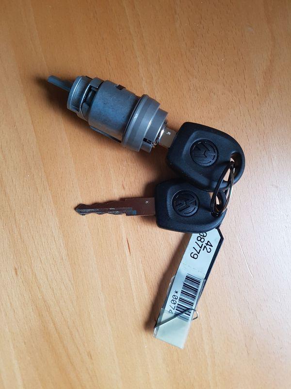 Schließzylinder für Zündanlassschalter mit Schlüssel