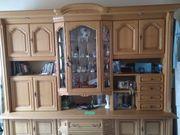 Wohnzimmerschrank Eiche hell kostenlos abzugeben