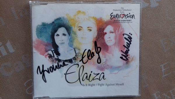 Single CD von Elaiza Handsigniert