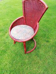 Rattan Stühle 16 Stück