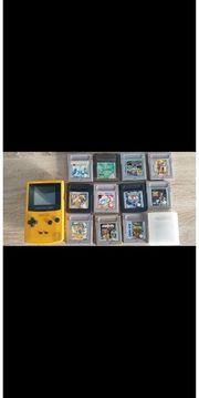 Game Boy Color Gelb