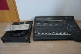 PA, Licht, Boxen - Mackie d8b digitales Studiomischpult