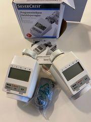 Zwei programmierbare Heizkörperregler Thermostatregler