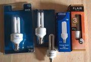 Leuchtmittel E27 7W und 11W