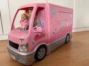 Barbie Wohnmobil mit Pool