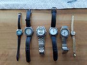 6 Stk Uhren
