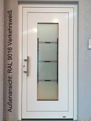 Aluminium-Haustür Ausstellungsstück Nr 2