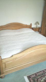 Eiche Schlafzimmer aus Belgien
