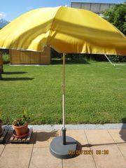 Sonnenschirm 160 cm Durchmesser gelb
