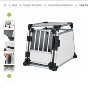 Hunde Transportbox Aluminium - Trixie Grösse