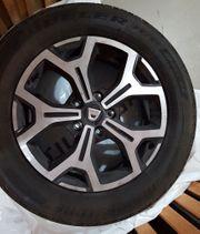 Dacia Original Alufelgen Sommerreifen 215