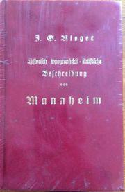historisches Buch über Mannheim