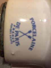 2 antike Waschbecken Porcelaine de
