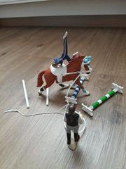 Schleich Voltigier Set Pferd Figuren