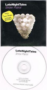 PROMO CD - Snow Patrol - LateNightTales