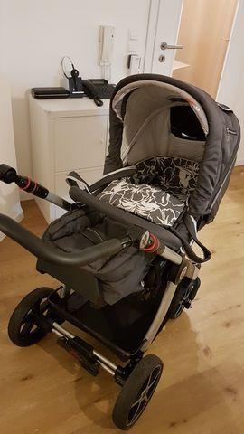 Kinderwagen - Superschöner Hartan Kinderwagen- plus Cybex Autokombi