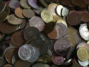 50 Kilo Münzen zu verkaufen