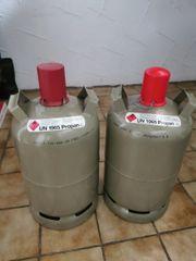 Camping Gasflaschen 11 kg Grau