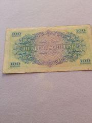 100 Schilling zu verkaufen