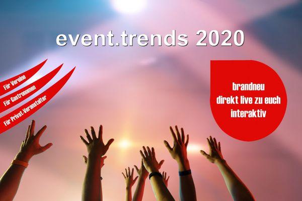 event trends 2020 - Exklusiv für