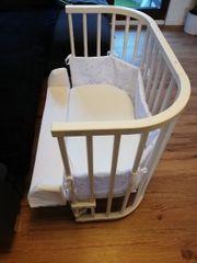 babybay Original Beistellbett weiß lackiert