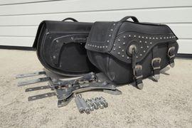 Motorrad-, Roller-Teile - Satteltaschen für Harley-Davidson XL 1200L