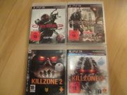 4x PS3 Games SCI-FI-ACTION