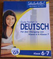 Schülerhilfe Buch Deutsch Klasse 6