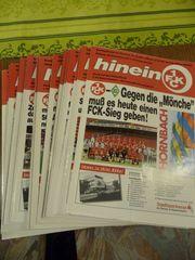Stadionzeitungen 1 FCK