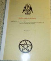 Seltene Gelegenheit Okkulte Unterlage-Sigillenmagie
