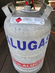 11kg Alu Gasflasche mit Sicherheitskappe