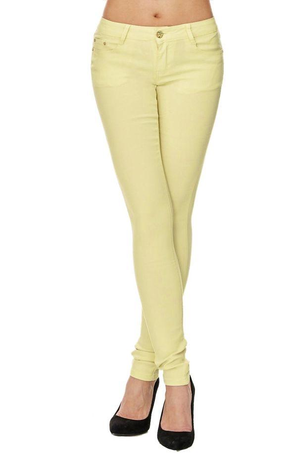 Damen Treggings Jeans Skinny Hüfthose