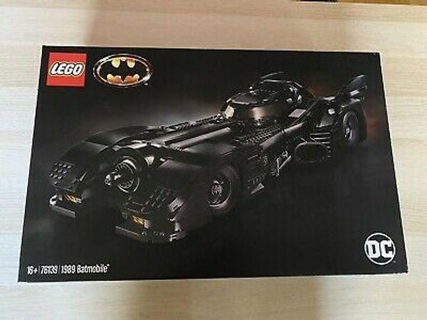 Lego 76139 Batmobile 1989 NEU