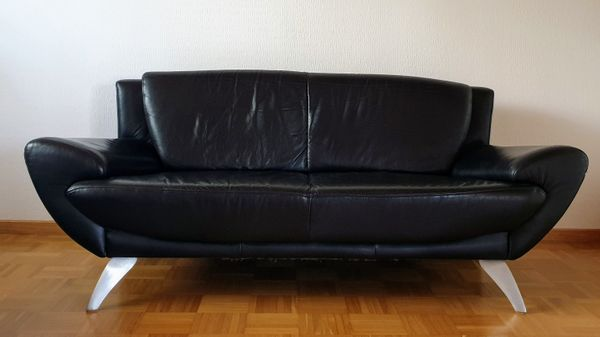 Echt Ledercouch Garnitur Sofa 3er 2 5er In Ellhofen Polster