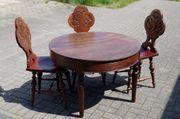 Antike Tisch 3 Stühlen Schweden