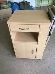 Nachtschrank Nachttisch für Pflegebett Betttisch -