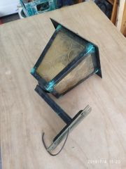 alte Wandlampe Aussenlampe Shabby Vintage