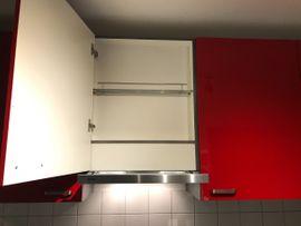 Küche Hochglanz u Form rot: Kleinanzeigen aus Heilbronn - Rubrik Küchenzeilen, Anbauküchen