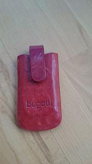 bugatti Handytasche Leder rot