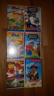 6 VHS Kassetten Benjamin Blümchen