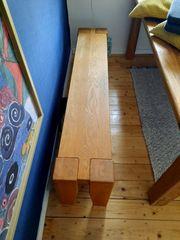 Bank Sitzbank aus Holz