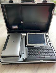 Panasonic Toughpad FZ-G1 Auto Prüfkoffer