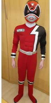 Faschingskostüm Power Ranger