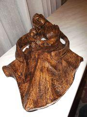 Maria Kind Relief 40cm Wandbild