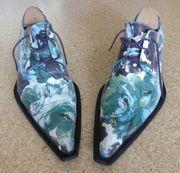 Handbemalte Champa Schuhe Größe 40