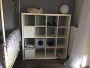 Regal Ikea Kallax 147x147 weiß